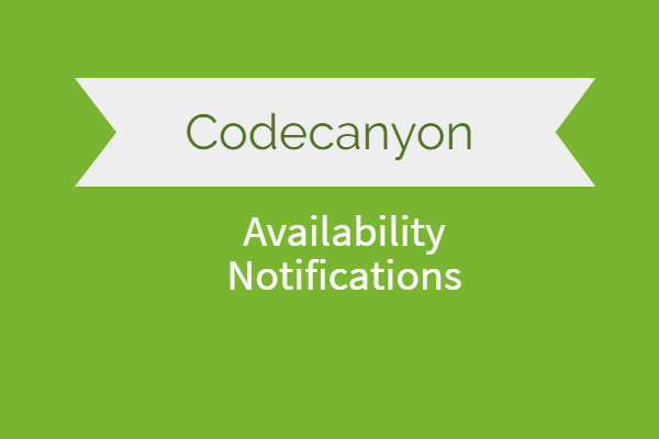 Availability Notifications for Woocommerce