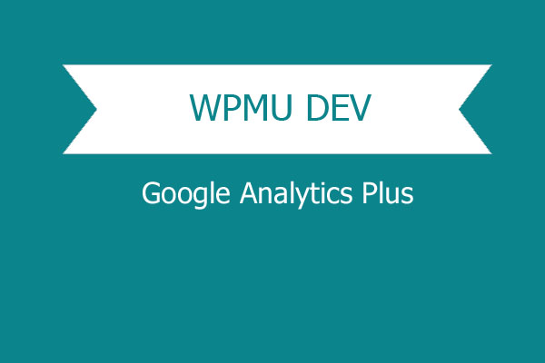 Wpmu Dev Google Analytics Plus