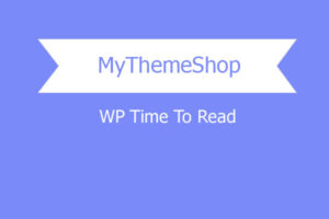 Mythemeshop Wp Time To Read WordPress Plugin