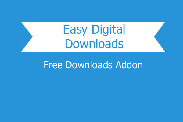 Easy Digital Downloads Free Downloads Addon