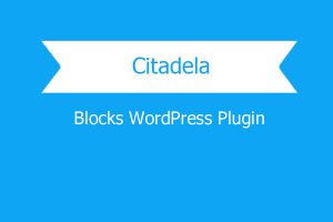 Citadela Blocks WordPress Plugin