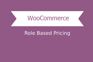 Role Based Pricing for WooCommerceRole Based Pricing for WooCommerce
